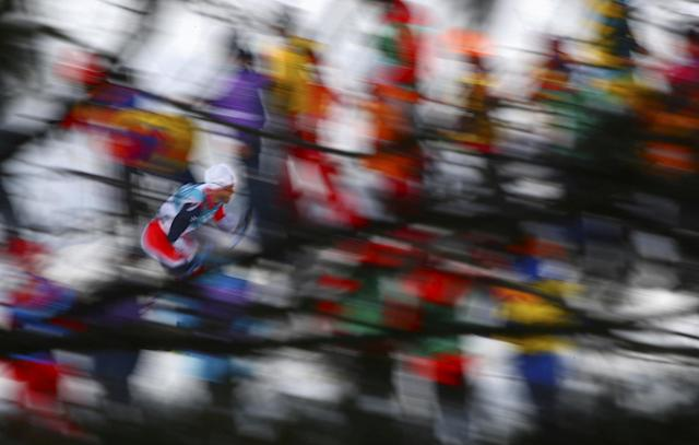 "Cross-Country Skiing - Pyeongchang 2018 Winter Olympics - Men's 50km Mass Start Classic - Alpensia Cross-Country Skiing Centre - Pyeongchang, South Korea - February 24, 2018 - Athlete from Norway competes. REUTERS/Carlos Barria SEARCH ""OLYMPICS BEST"" FOR ALL PICTURES. TPX IMAGES OF THE DAY."