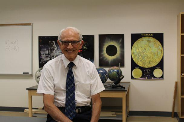 PHOTO: David Wright, Ph.D., has been a professor at Tidwater Community College for 45 years. (Courtesy Tidewater Community College)