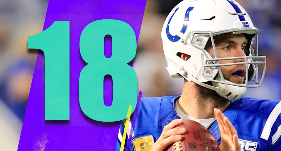 <p>The NFL's best story that's not getting enough attention is, strangely, Andrew Luck's comeback. He's back to a Pro Bowl level. (Andrew Luck) </p>