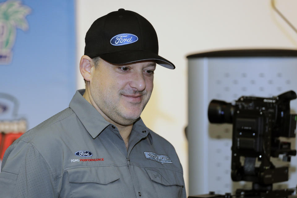 Stewart-Haas Racing co-owner Tony Stewart is launching a new racing series. (AP Photo/Terry Renna)