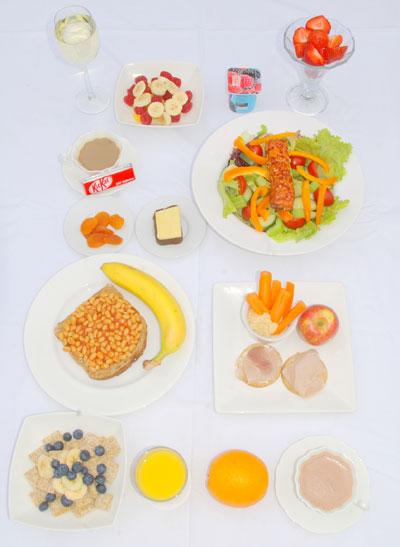 Guess which daily diet is equal to 2000 calories, Mrs Average or Mrs  Appetite?