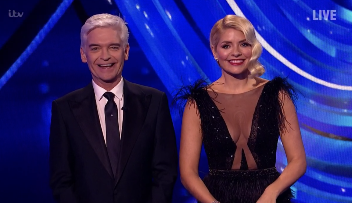 Phillip Schofield returned to his presenting duties for the first time since coming out as gay. (ITV)