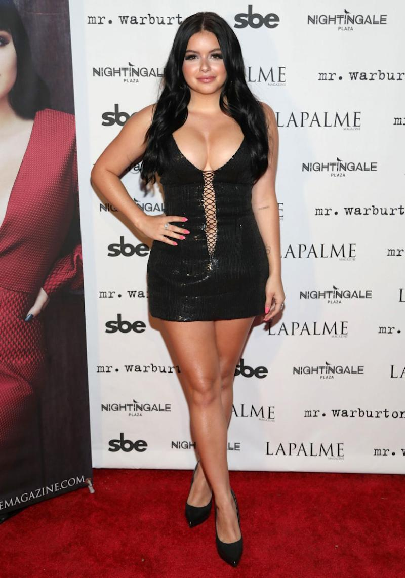 Modern Family star Ariel Winter left very little to the imagination during a recent night out. Source: Getty
