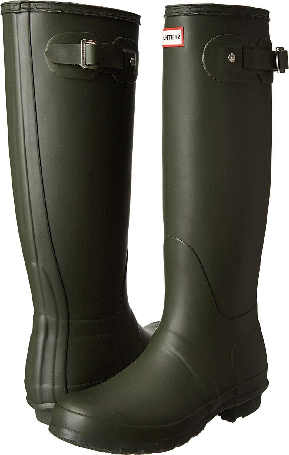 """<p>Winter storms are no match for these iconic <a href=""""https://www.popsugar.com/buy/Hunter-Women-Original-Tall-Rain-Boots-506604?p_name=Hunter%20Women%27s%20Original%20Tall%20Rain%20Boots&retailer=amazon.com&pid=506604&price=80&evar1=fab%3Aus&evar9=46804763&evar98=https%3A%2F%2Fwww.popsugar.com%2Ffashion%2Fphoto-gallery%2F46804763%2Fimage%2F46804768%2FThese-Iconic-Boots&list1=shopping%2Cfall%20fashion%2Camazon%2Cfall&prop13=mobile&pdata=1"""" class=""""link rapid-noclick-resp"""" rel=""""nofollow noopener"""" target=""""_blank"""" data-ylk=""""slk:Hunter Women's Original Tall Rain Boots"""">Hunter Women's Original Tall Rain Boots</a> ($80, originally $150).</p>"""