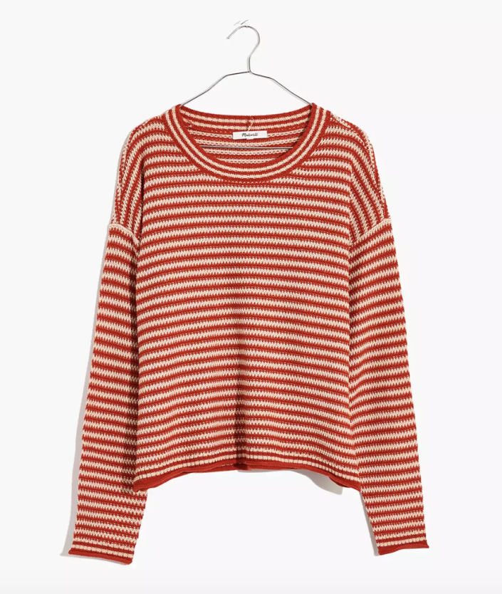 Madewell striped sweater, gifts for her