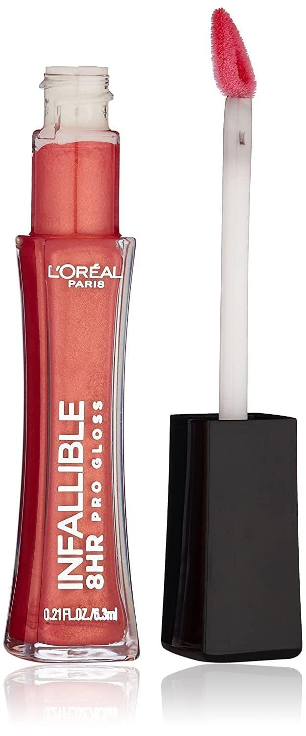<p>Go bold with the <span>L'Oréal Paris Infallible 8 HR Pro Gloss in Fiery</span> ($4, originally $10). It's a summer lip gloss you'll love to rock.</p>