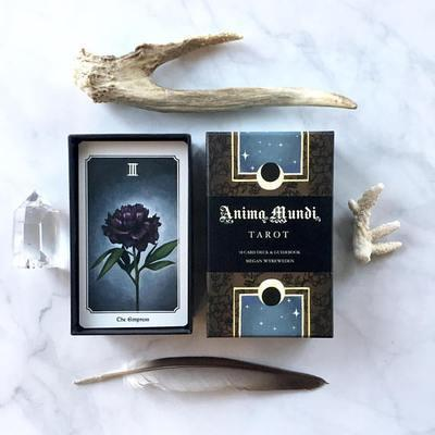 "<h2>Anima Mundi Tarot Deck by Megan Wyreweden</h2><br>""This deck called to me for many, many months before I finally broke down and bought it,"" says Backlund. ""There are no humans present in this tarot deck, only various species from the animal kingdom. 'Anima Mundi' translates to 'the world's soul,' and you get a very pure message from these cards because you're translating the meaning of the tarot into a language that is devoid of the human ego."" Backlund tells Refinery29 that she turns to these cards when she wants to remember what truly matters, and to connect with the spirit of the natural world.<br><br><strong>Anima Mundi Tarot</strong> Anima Mundi Tarot Deck, $, available at <a href=""https://go.skimresources.com/?id=30283X879131&url=https%3A%2F%2Fscarletsage.com%2Fproducts%2Fanima-mundi-tarot"" rel=""nofollow noopener"" target=""_blank"" data-ylk=""slk:The Scarlet Sage"" class=""link rapid-noclick-resp"">The Scarlet Sage</a>"