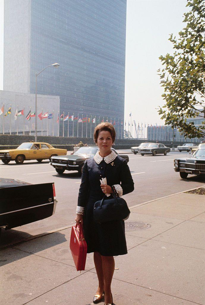 <p>With her life on screen behind her, Shirley began a new career as an international diplomat. In 1969, the former actress was appointed the United States representative for the United Nations. </p>