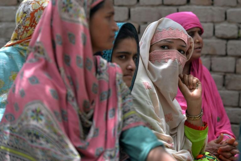"""Village elders in Mohri Pur banned women from voting decades ago, claiming that visiting a public polling station would """"dishonour"""" them"""