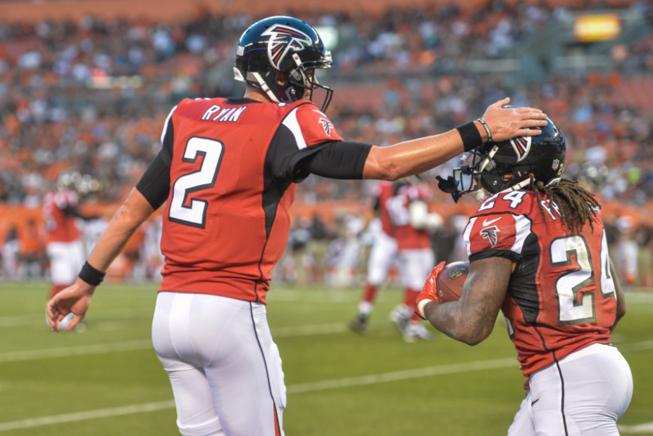 Is Atlanta the team to beat in the NFC?