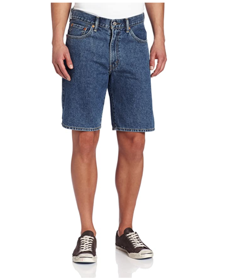 Levi's Men's 550 Relaxed Fit Shorts. Image via Amazon.