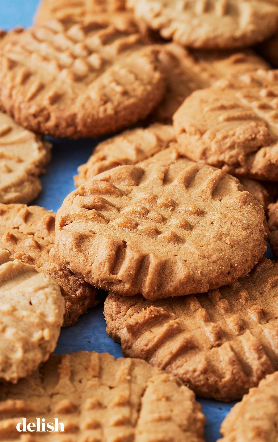 """<p>They're good literally every time you make them. </p><p>Get the recipe from <a href=""""https://www.delish.com/cooking/recipe-ideas/recipes/a51462/easy-peanut-butter-cookie-recipe/"""" rel=""""nofollow noopener"""" target=""""_blank"""" data-ylk=""""slk:Delish"""" class=""""link rapid-noclick-resp"""">Delish</a>.</p>"""