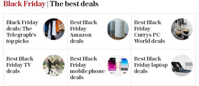 Black Friday | The best deals