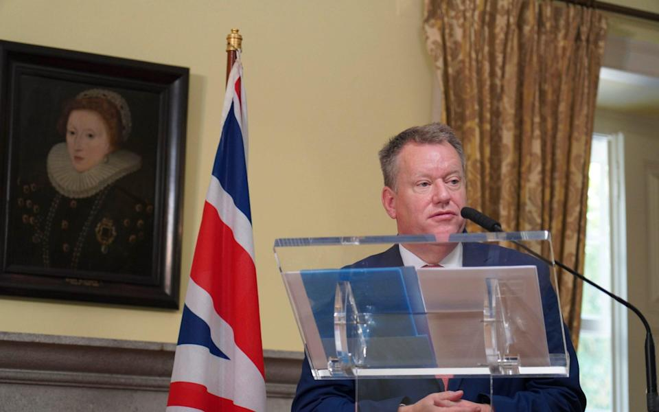 Lord Frost said the reach of the European Court of Justice remained a key issue - Dan Edwards/Number 10 Downing Street