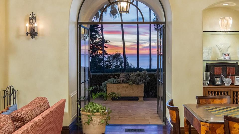 The home's many west-facing vantage points are perfect for viewing the sunset. - Credit: Photo: Courtesy of Vista Sotheby's International Realty