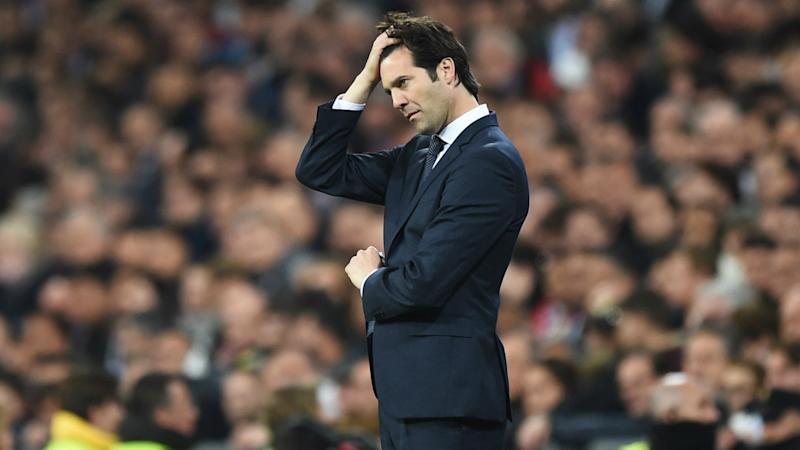 Solari apologises to Madrid fans following 'painful' loss