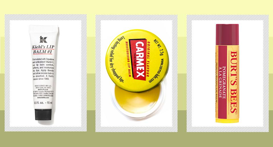 The best lip balms for chapped lips, from Burt's Bees to Carmex [Photo: Yahoo UK]