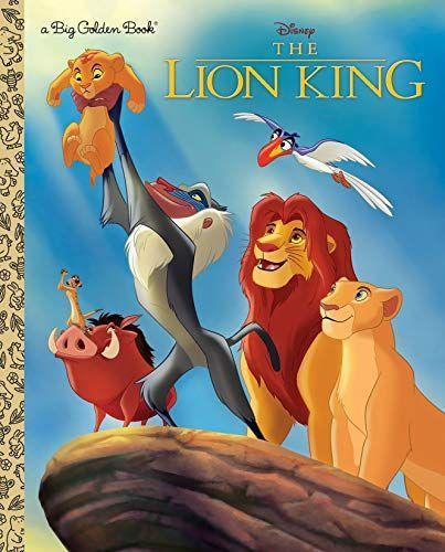 """<p><strong>Golden/Disney</strong></p><p>amazon.com</p><p><a href=""""http://www.amazon.com/dp/0736439773/?tag=syn-yahoo-20&ascsubtag=%5Bartid%7C10063.g.28849145%5Bsrc%7Cyahoo-us"""" rel=""""nofollow noopener"""" target=""""_blank"""" data-ylk=""""slk:Shop Now"""" class=""""link rapid-noclick-resp"""">Shop Now</a></p><p><strong>The Lion King</strong></p><p>Adapted from screen to literature, This Big Golden Book retells the classic Disney story of Simba, Nala, and Mufasa, and what it means to complete the circle of life.<br></p>"""