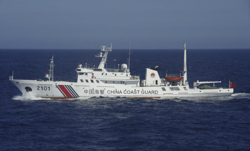 Japan concerned about Chinese military activity