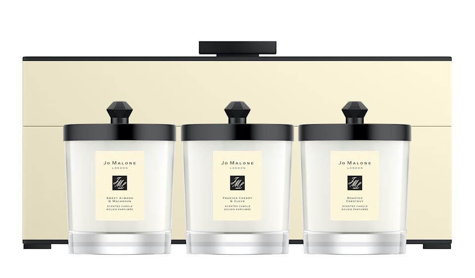 Decorated Candle Collection. (PHOTO: Jo Malone)