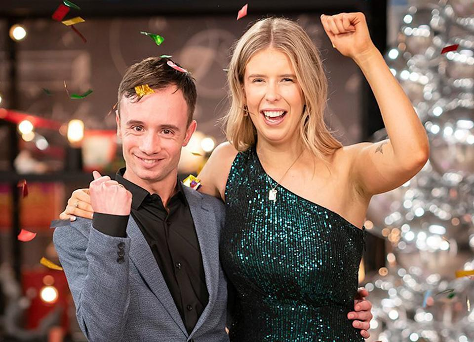 Beauty and the Geek stars Lachy Mansell and Kiera Johnstone win