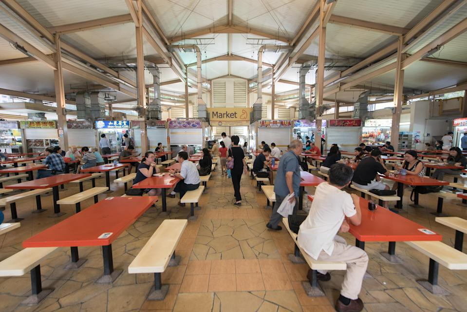 Jurong West Hawker Centre. (Yahoo News Singapore file photo)