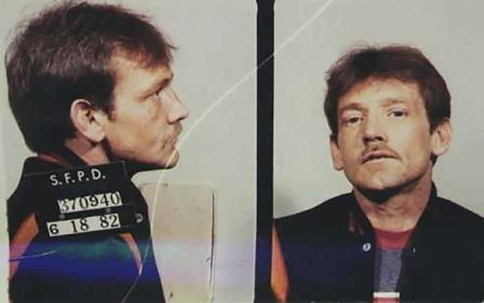 Convicted pedophile Wayne Jackson, aka Dan Therrien, who is suspected of kidnapping Kevin Collins on February 10, 1984 in San Francisco | San Francisco Police Department