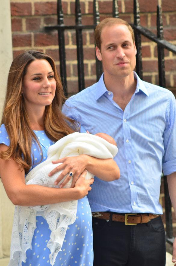 Kate Middleton, Duchess Of Cambridge Doing A 'Fantastic Job' With Prince George