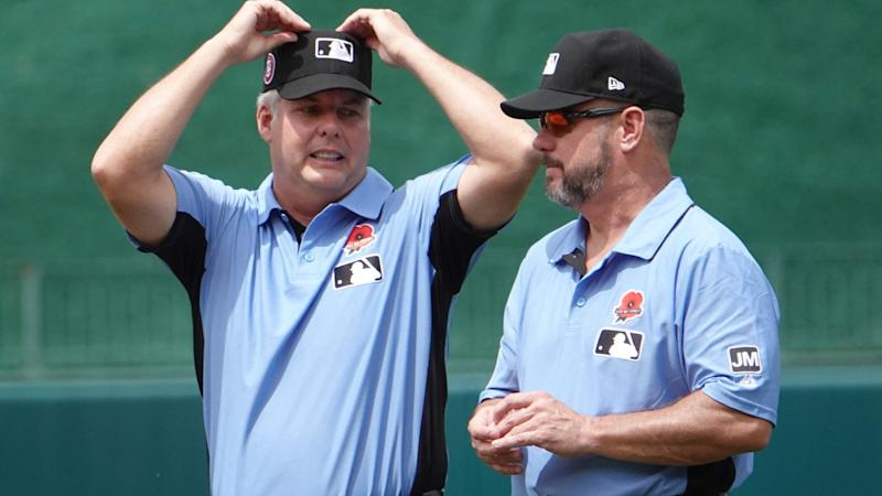 Major League Baseball investigating umpire's tweets about buying assault rifle, Trump impeachment