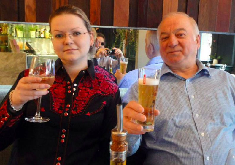 <em>Yulia and Sergei Skripal remain in a critical condition after being poisoned by a nerve agent</em>