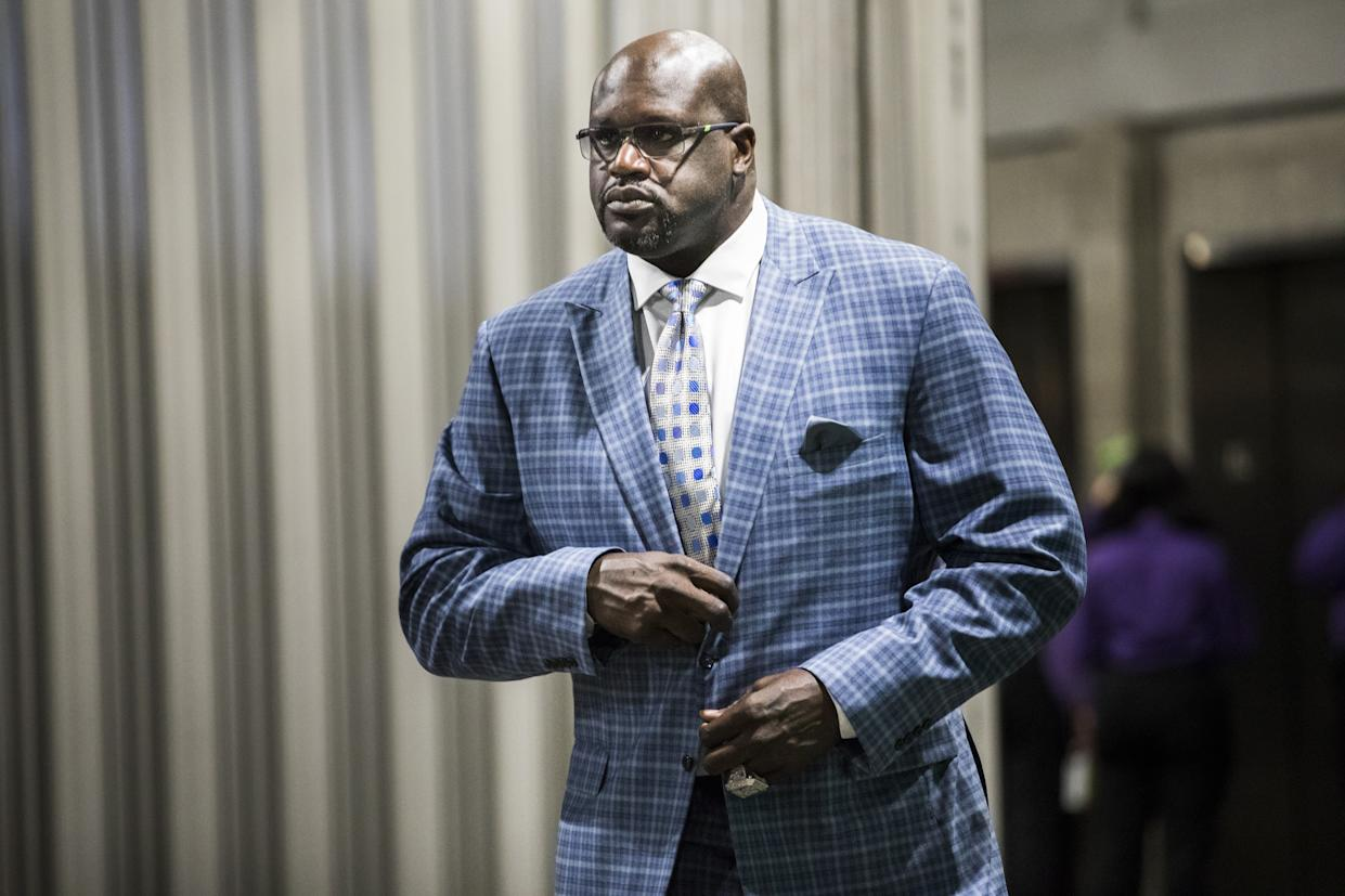 Shaquille O'Neal gave voice to what many NBA fans hoped to hear from NBA leaders like LeBron James and Steve Kerr. (Philip Pacheco/Anadolu Agency/Getty)