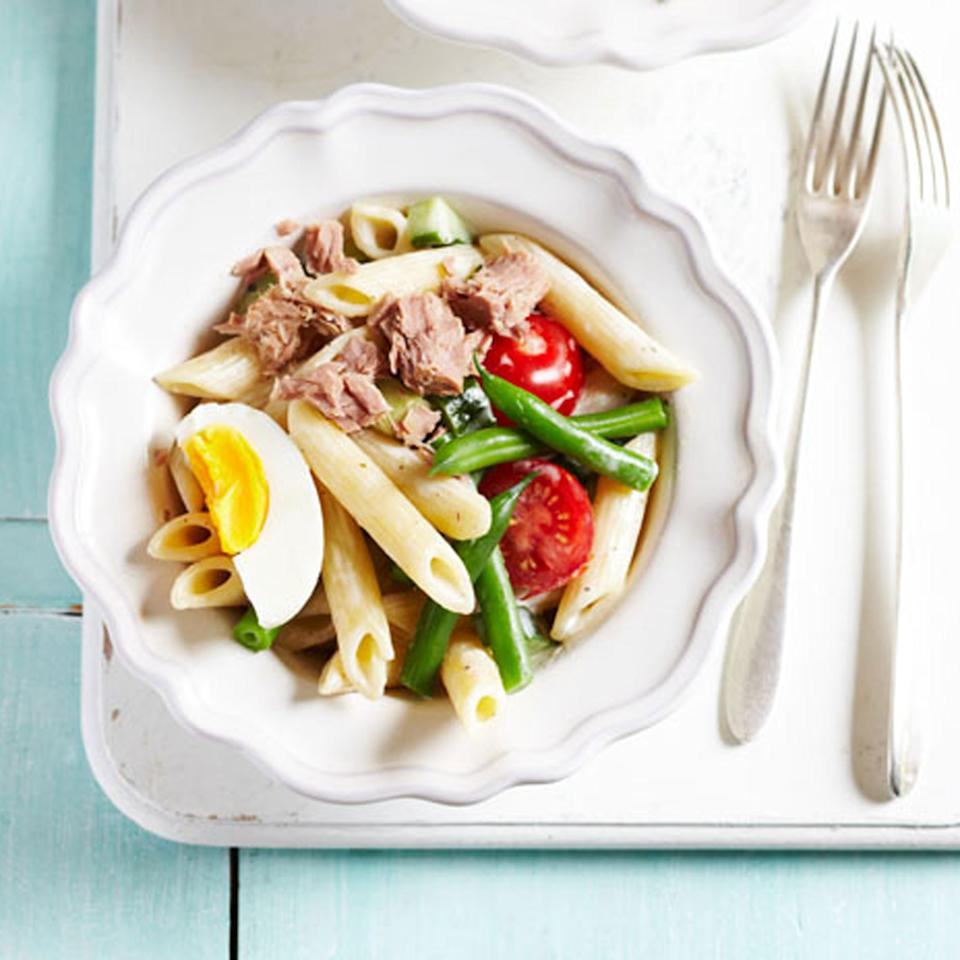 5:2 Diet: Fast Day Lunch - French Tuna Nicoise Pasta Recipe