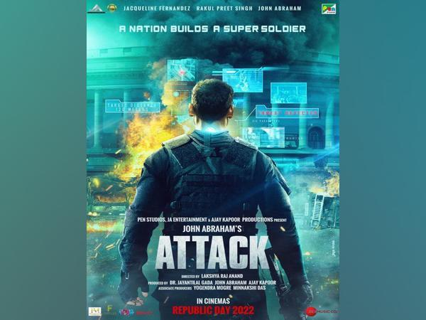 Poster of 'Attack' (Image Source: Instagram)