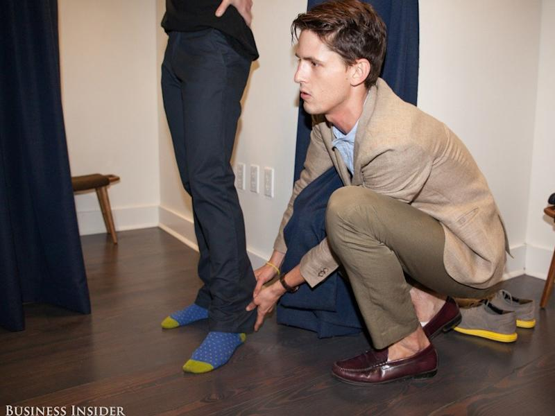 bonobos fitting