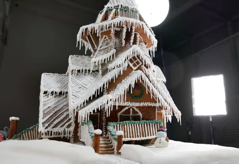 Gingerbread baking competition in Stockholm