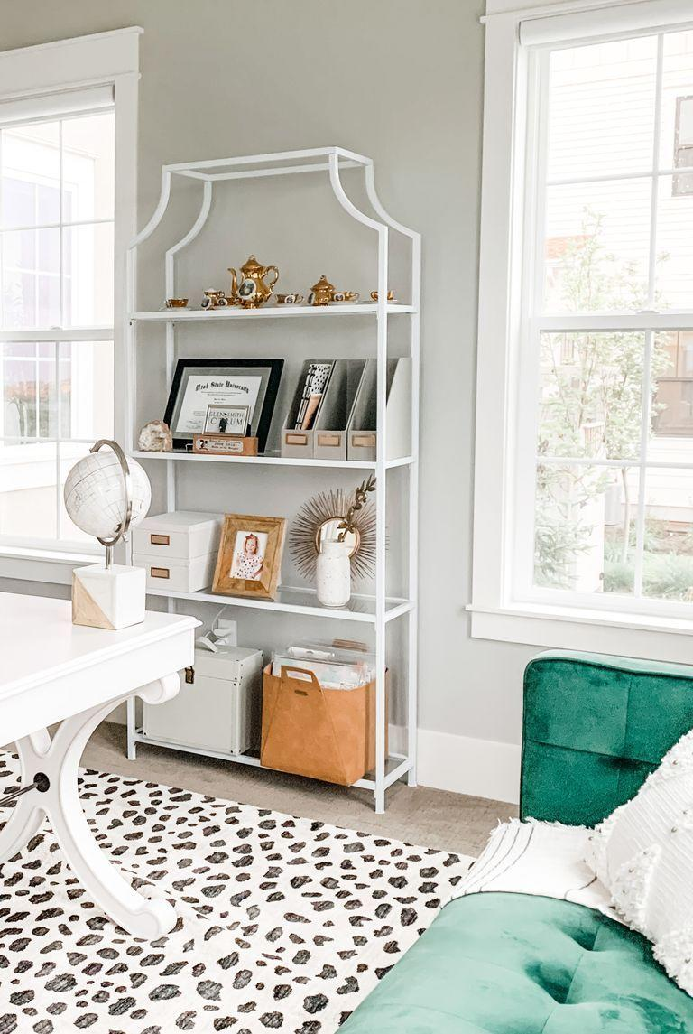 <p>If you're working with a large space, consider incorporating a cozy sofa, as Kari Bancroft, a stay-at-home mom in South Jordan, UT, has done here. It's the perfect spot to step away from your desk, take a call, or catch up on reading. <br></p>