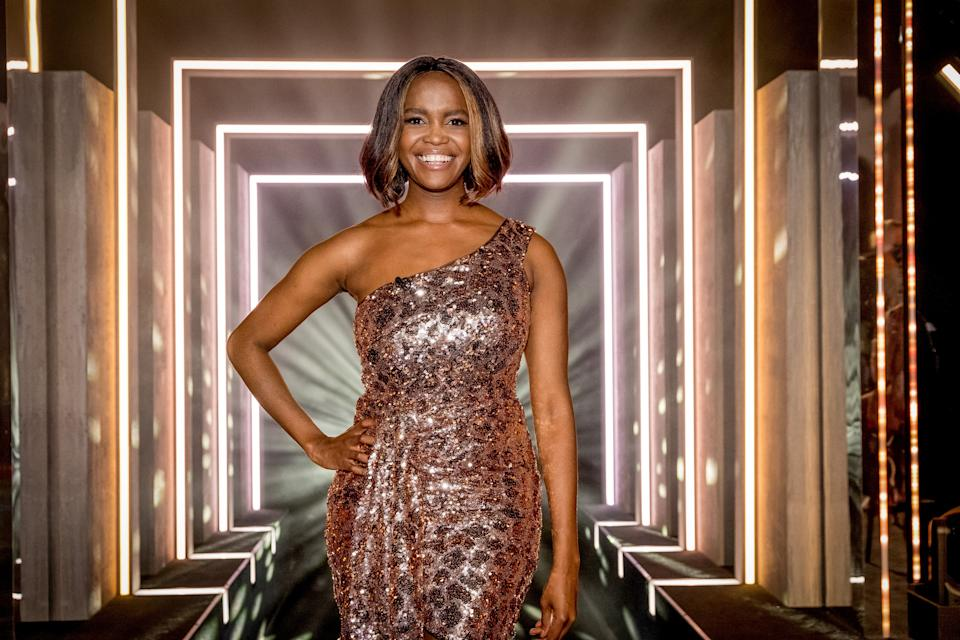 WARNING: Embargoed for publication until 09:00:01 on 12/10/2021 - Programme Name: I Like The Way U Move - TX: n/a - Episode: I Like The Way U Move ep8 (No. 8) - Picture Shows:  Oti Mabuse - (C) BBC - Photographer: Guy Levy