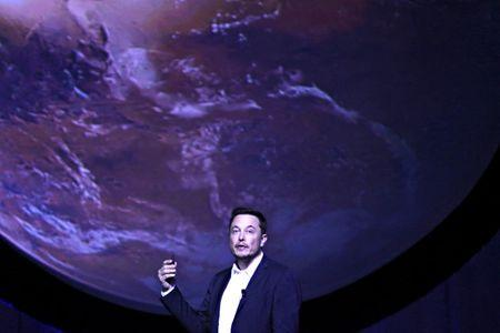 Elon Musk unveils plan for Mars 'city'