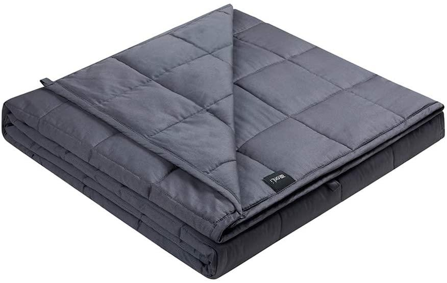 ZonLi Weighted Blanket 15 lb Twin - Amazon, $57 (originally $90)
