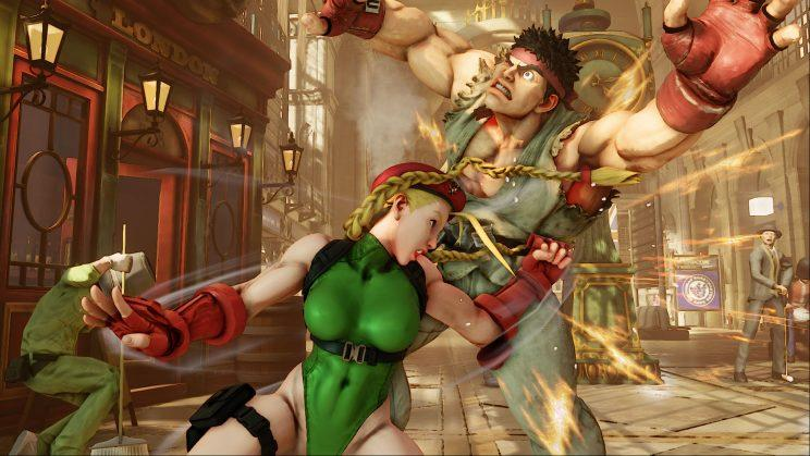 Cammy, the #1 ranked character, according to SRK Rankings