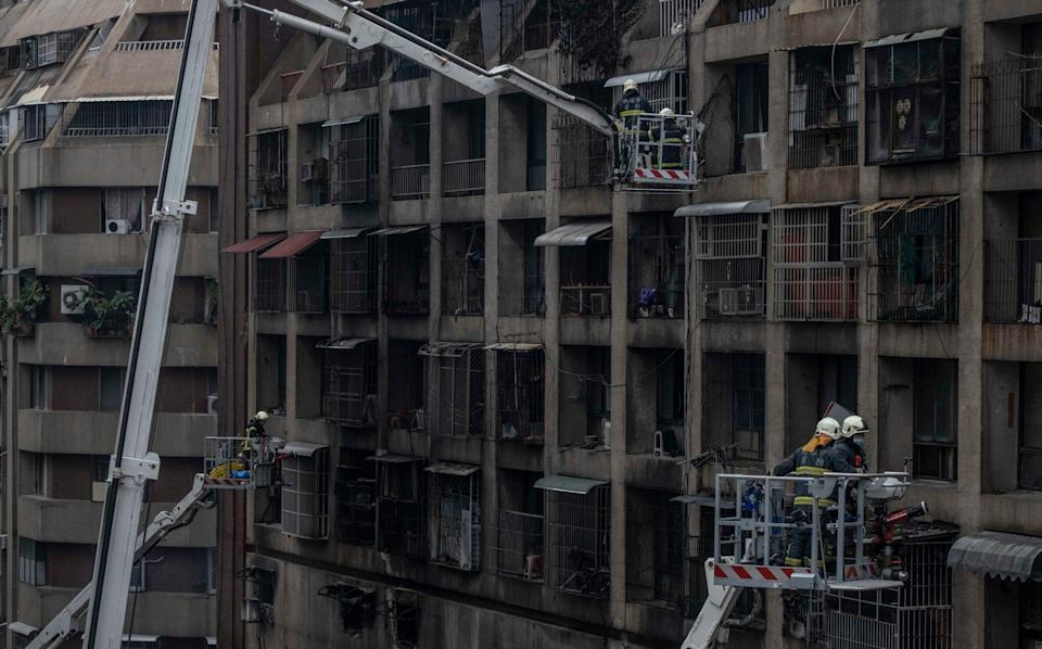 Most of the deaths were on floors seven to eleven - Getty Images AsiaPac