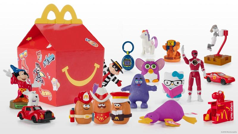 McDonald's launches 'Surprise Happy Meal' with throwback toys