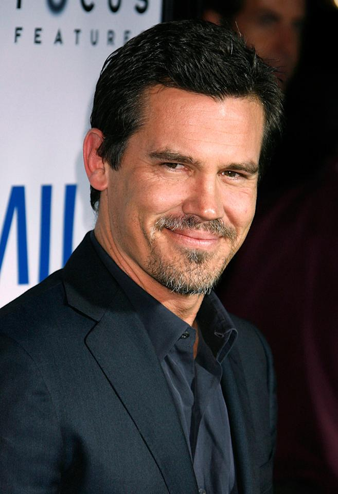 """<a href=""""http://movies.yahoo.com/movie/contributor/1800019611"""">Josh Brolin</a> at the Los Angeles premiere of <a href=""""http://movies.yahoo.com/movie/1810041985/info"""">Milk</a> - 11/13/2008"""
