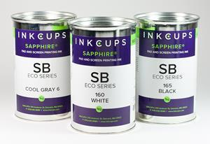 Designed to be eco-sustainable, the SB Eco Series is classified as a non-toxic ink with heavy metal-free pigments. This means the inks do not contain harsh chemicals such as aromatic hydrocarbons, azo dyes, cyclohexanone, formaldehyde, PAH and persistent organic pollutants.