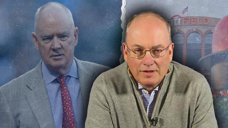 Sandy Alderson and Steve Cohen treated art with faded background