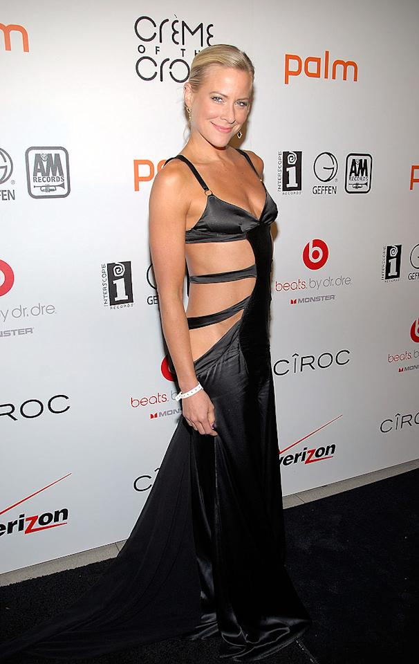 "Actress Brittany Daniel donned a tacky cut-out frock for a post-BET awards bash in Beverly Hills. For once, less was not more! Michael Tullberg/<a href=""http://www.gettyimages.com/"" target=""new"">GettyImages.com</a> - June 27, 2010"