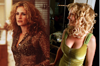 <p>Roberts won an Academy Award for her portrayal of the real-life, loudly dressed legal clerk <em>Erin Brockovich</em> in the 2000 film that bears her name. Brockovich became famous when her firm took on PG&E.</p>