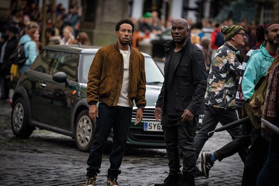 """Tej (Chris """"Ludacris"""" Bridges) and Roman (Tyrese Gibson) in Fast & Furious 9. (PHOTO: United International Pictures)"""