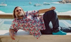 Jack Black's family vacay plan includes slides, water & sharks