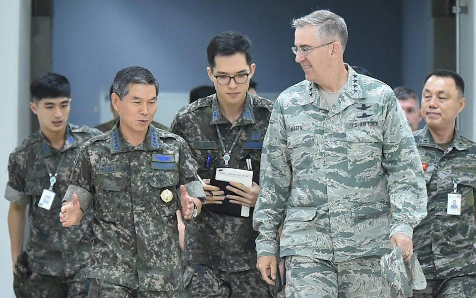 US army - EPA/SOUTH KOREAN JOINT CHIEFS OF STAFF